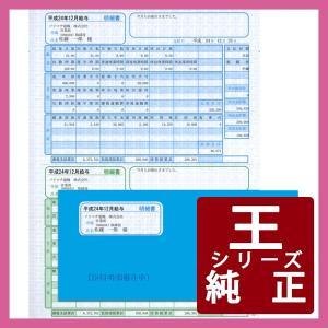 ソリマチ専用帳票サプライ 給与・賞与明細書(SR231)・封筒(SR291)割引セット 500枚 (SR282)|pcoffice