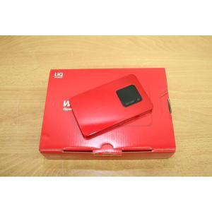 【中古】 WX01 /NAD31SRU メタリックレッド /Speed Wi-Fi NEXT WiMAX 2+ UQ版,au|pcones