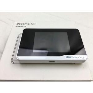【中古】 HW-01F White /Wi-Fi STATION ,docomo|pcones
