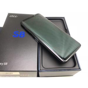 SCV36 ミッドナイトブラック /Galaxy S8、au、新品同様、未使用品|pcones
