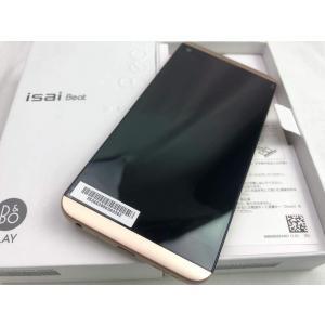 LGV34 ゴールド /isai Beat,au,新品同様,未使用品|pcones