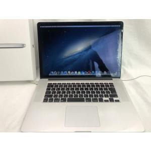 【中古】 MacBook Pro Retinaディスプレイ 2700/15.4 ME665J/A pcones