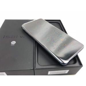 LGV35 モロッカンブルー /isai V30+ 【SIMロック解除品】、au、新品同様、未使用品|pcones