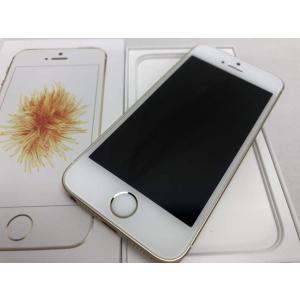 (中古) iPhone SE 32GB ゴールド /MP842J/A  Mobile 【SIMロック解除品】|pcones