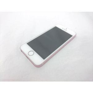 (中古) iPhone SE 64GB ローズゴールド /MLXQ2J/A 【国内版 SIM FREE】、SIMフリー|pcones