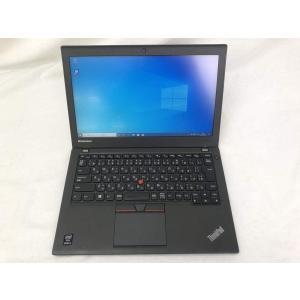(中古) ThinkPad X250 リノベーションPC (i5-5200U/12.5/4GB/新品SSD120GB/W10)|pcones