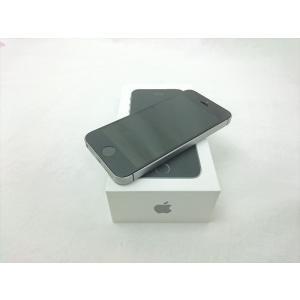(中古) iPhone SE 64GB スペースグレイ /MLM62J/A  【SIMロック解除品】、au|pcones