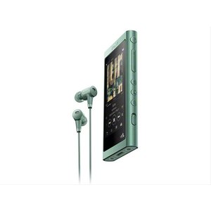 NW-A55HN [16GB ホライズングリーン]、新品同様、未使用品 pcones