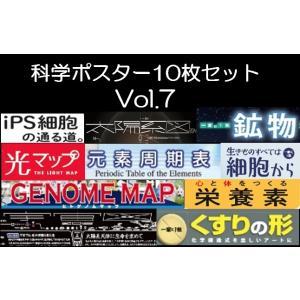 科学ポスター10枚セットVol.6|pcost