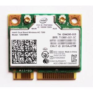 Intel Dual Band Wireless-AC 7260 802.11a/b/g/n/ac 867 Mbps+ Bluetooth 4.0 対応 無線LANカード