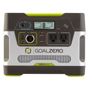 Goal Zero Yeti 400 Solar Generator R2 (日本語取説付) 632...