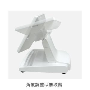 ノングレア 7インチスタンド型LCDセカンドモニターUSB BC-LM6507U-W-SET ホワイト ビジコム pcpos2 02
