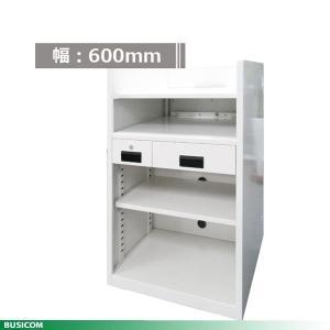 組立不要 国産スチール製 600幅POSカウンター  BCT-POS600(在庫品)|pcpos2