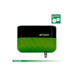 IDTECH iOS/Android 対応 2トラック モバイル磁気カードリーダー(イヤフォンジャック接続) Shuttle グリーン|pcpos2