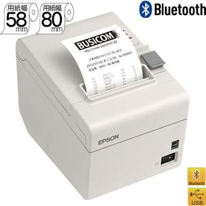 BluetoothレシートプリンターEPSON TM202BI136 クールホワイト|pcpos2