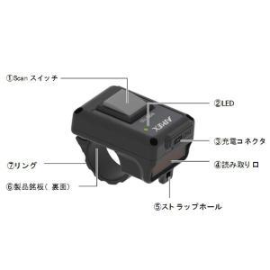 アイメックス WRS-100 超軽量・小型 ウェアラブル リングスキャナ Bluetooth 4.2(BLE) pcpos2 04