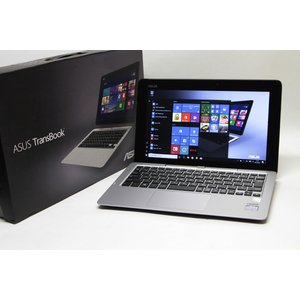 ASUS 11.6型 2-in-1 ノートパソコン TransBook T200TA-CP004H Atom 1.46GHz/2GB/32GB+500GB/