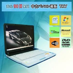 中古 ノートパソコン  中古パソコン SONY VGN-FS22B CeleronM/2GB/80GB/マルチ/Win7|pctky