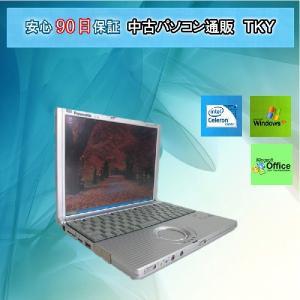 中古 ノートパソコン  中古パソコン Panasonic CF-R2RC9BXS Celeron/ 512MB/80GB/ XP|pctky