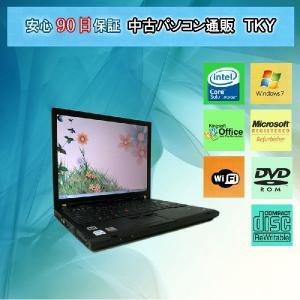 中古パソコンLenovo/IBMT60 CoreSolo/1.5GB/60GB/コンボ/Win7|pctky