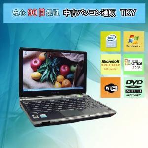 中古 ノートパソコン  中古パソコン SONY VGN-TX72B CeleronM/1.5GB/80GB/マルチ/無線/Win7|pctky