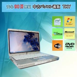 中古 ノートパソコン  中古パソコン HPnx4820 CeleronM/1GB/40GB/ドライブ/無線/Win7 pctky