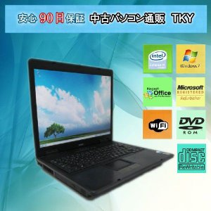 中古 ノートパソコン  中古パソコン EPSONNJ1000 CeleronM/2GB/40GB/コンボ/Win7|pctky