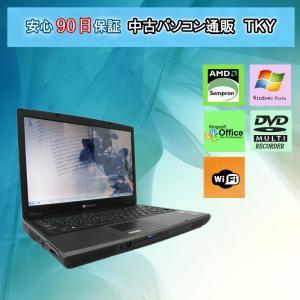中古パソコン 訳あり 中古 ノートパソコン  中古パソコン Gateway W340UA AMD Sempron /1GB/100GB/マルチ/無線/Vista|pctky