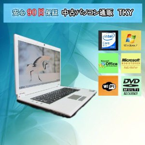 訳あり 中古 ノートパソコン  中古パソコン NOTEBOOK COMPUTER M66N CoreDuo/2GB/60GB/マルチ/Win7|pctky