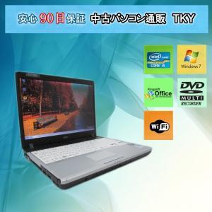 中古パソコン 中古ノートパソコン FUJITSU FMV-P770/B Corei5 U560 1.33GHz/2GB/160GB(DtoD)/無線/マルチ/Windows7|pctky