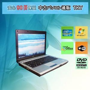 中古 ノートパソコン  中古パソコン  NEC  VB-B Core i5 /2GB/160GB/無線/DVDマルチ/Windows7 pctky