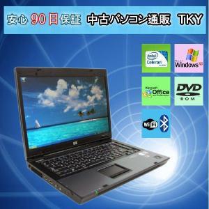 中古 ノートパソコン  中古パソコン HP6710b Celeron/1.5GB/40GB/ドライブ/XP pctky