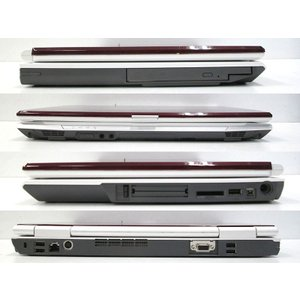 テンキ−付き FUJITSU FMV-BIBLO NF/A70 Core2Duo T8100 2.10GHz/2GB/160GB(DtoD)/無線/DVDマルチ/WindowsVista|pctky|04