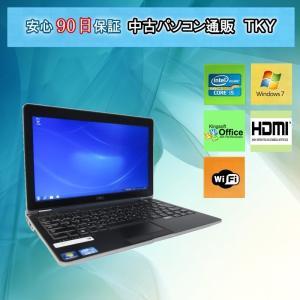 中古 ノートパソコン  中古パソコン 第三世代 Core i5 プロセッサー DELL E6230 /4GB/320GB/無線/Windows7|pctky