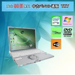 中古 ノートパソコン  中古パソコン PANASONIC  CF-W5 CoreDuo/1GB/ 60GB/無線/DVDマルチ/WindowsVista|pctky