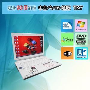 中古 パソコン 中古ノートパソコン 地デジテレビ TOSHIBA  F40/85E Celeron/2GB/160GB(DtoD)/WindowsVista|pctky