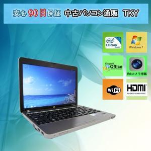 中古 ノートパソコン  中古パソコン 訳あり Core2世代Celeron HP 4230s Celeron B840/2GB/320GB/無線/Win7|pctky