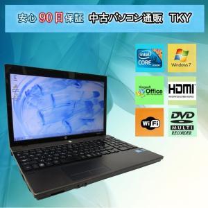 中古 ノートパソコン  中古パソコン  テンキー付き HP  4520s Core i3/3GB/250GB/無線/マルチ/Windows7 pctky