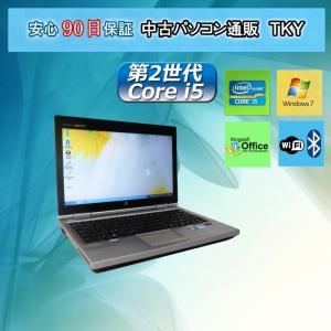 中古 ノートパソコン  中古パソコン 第2世代 Core i5 HP 2560p/4GB/320GB/無線/Windows7 pctky