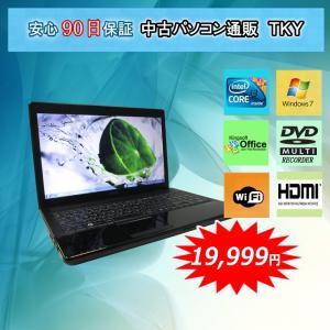 中古パソコン 中古ノートパソコン テンキー付き Core i3搭載 EPSON  NJ3300 Core i3/4GB/160GB/DVDマルチ/無線/Windows7|pctky
