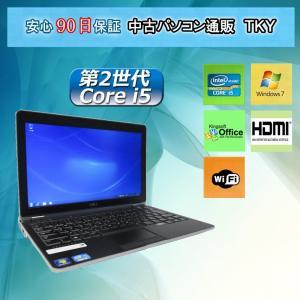 中古パソコン 中古ノートパソコン 第2世代 Core i5搭載 DELL LATITUDE E6220/4GB/250GB/無線LAN内蔵/Windows7|pctky