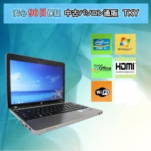 中古 ノートパソコン  中古パソコン 第2世代 Core i5 HP ProBook 4230s /4GB/250GB/無線/Windows7 pctky