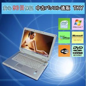 中古 ノートパソコン  中古パソコン TOSHIBA Qosmio F30/675LS CeleronM/2GB/120GB/マルチ/無線/Win7|pctky
