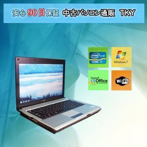 中古 ノートパソコン  中古パソコン 第2世帯 Core i7 NEC  VB-D/4GB/250GB/無線/Windows7|pctky