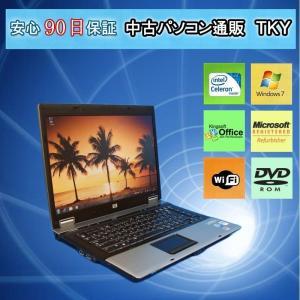 無線付き 中古 ノートパソコン  中古パソコン HP Compaq 6730b Celeron Dual-Core T3000/2GB/160GB/Win7 pctky
