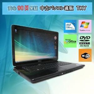 中古 ノートパソコン  中古パソコン DELL 1545 Celeron/2GB/160GB/DVDマルチ/無線/WindowsVista|pctky