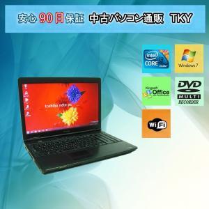 中古パソコン 中古ノートパソコン TOSHIBA  L42 Core i3/2GB/160GB(DtoD)/無線/マルチ/Windows7|pctky