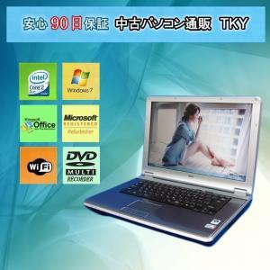 中古 ノートパソコン  中古パソコン NEC VE-7 Core2Duo/3GB/120GB/マルチ/Win7|pctky