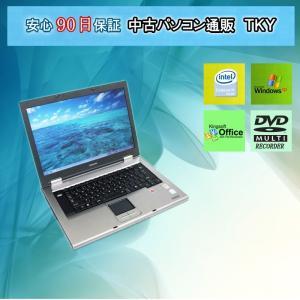 中古 ノートパソコン  中古パソコン TOSHIBA Dynabook Satellite K11 CeleronM/1GB/40GB/マルチ/WindowsXP pctky