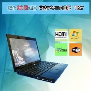 中古 新品無線LANアダプタ付き 中古ノートパソコン HP ProBook 4515s AMD Sempron/4GB/160GB/Windows7|pctky